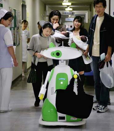 hospital_robot japon tecnologia