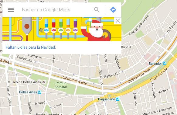 googlemaps navidad